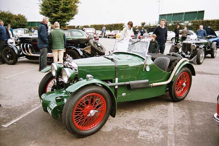 taken at Epsom race Course at Totally MG in sptember 2003