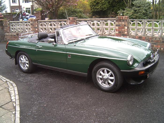 My 1980 Roadster, 5 years after restoration and improving with age!