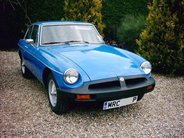 My MGB GT bought in 1996 and restored 1997-2001 (interior still to do)