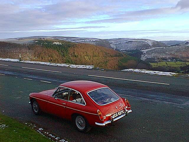 Making the most of the winter sunshine in North Wales