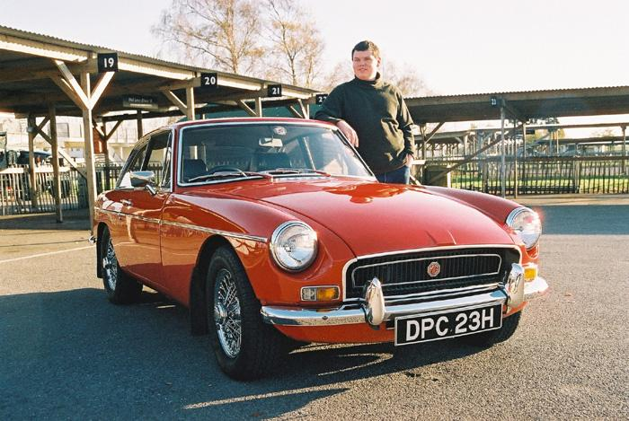 As featured in January 2005 Enjoying MG pictured at the famous Goodwood Motor Circuit.