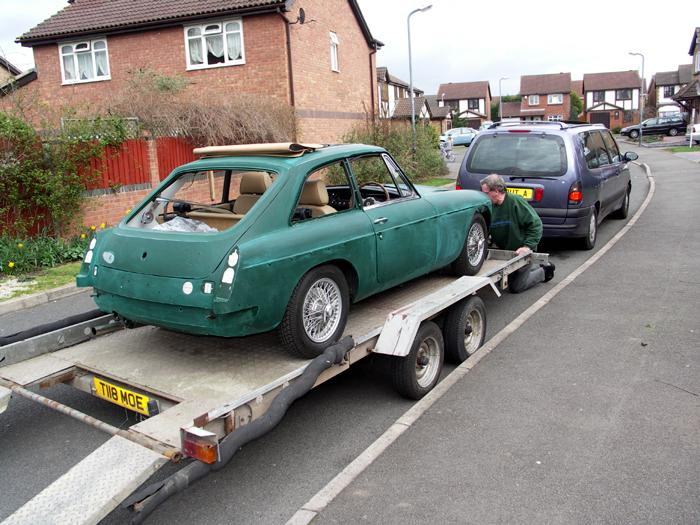 My BGT on its way for a re spray