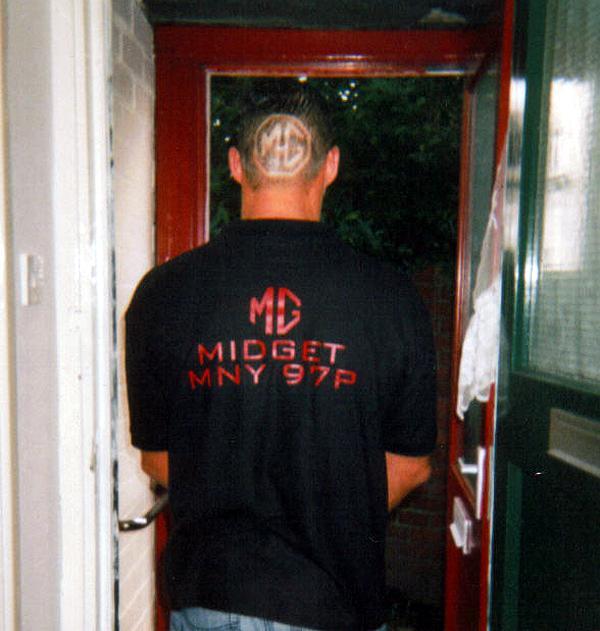 Unique haircut!!