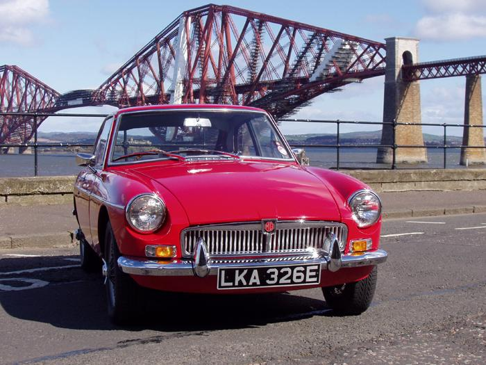 Go Forth and multiply.  The Forth Bridge, and my red 67 GT