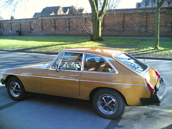 I bought this car a couple of weeks ago. Its not in great condition, but its all mine. I'll be running it as a  rolling restoration, just doing bits and bobs when I get the time/money. I'm going to give it a quick service first then just play it by ear