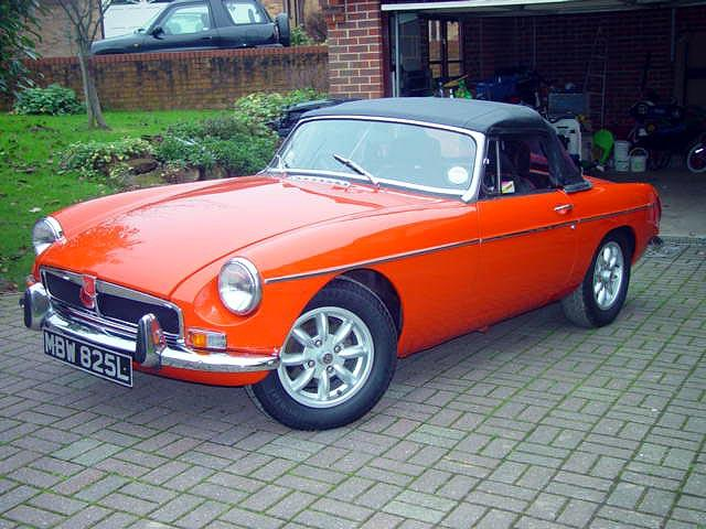 1972 MGB roadster. she is my baby and goes like a dream.