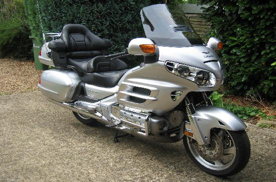 Oh alright, it isn't realy an MGA it's my new Goldwing. Just thought I'd like to diversify.