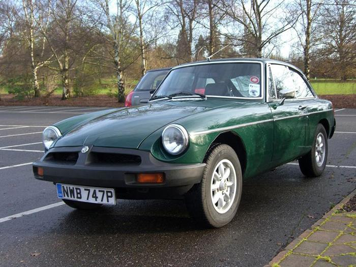 Resplendent in British Racing Green. Hardly an original part present - even the colour and registration number have changed to protect the innocent!