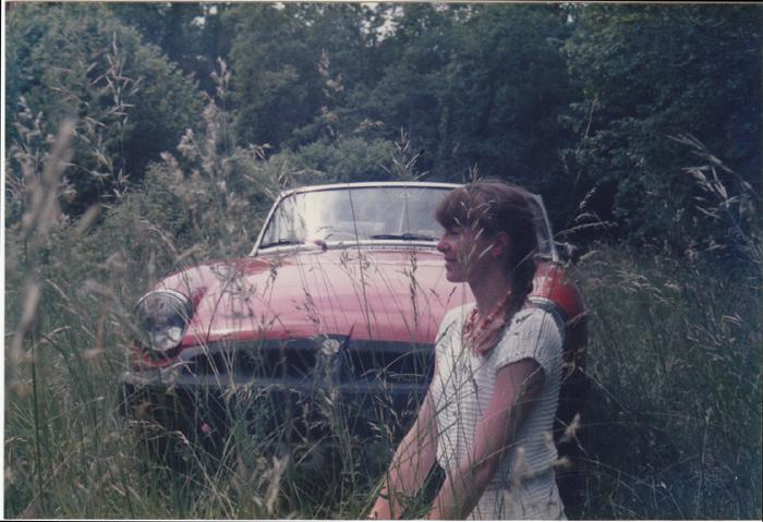 This photo was taken in France on our honeymoon in 1985.  The car was sold locally here in Lochinver and is being restored.  I haven't sold my wife yet but have just bought a 1.6 MGF and rejoined the MGOC.