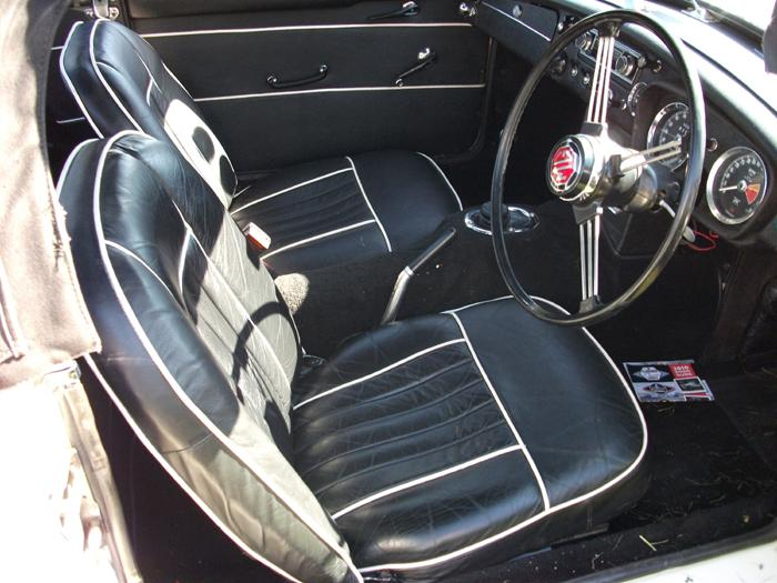 Driver's side interior