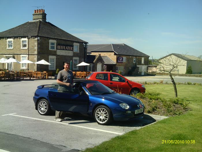 Well all over and Time to drive 200 miles home. Great weekend weather and Peak District were beautiful.