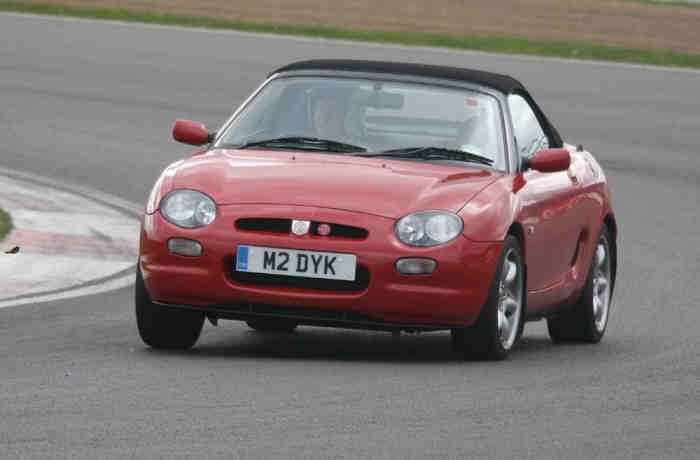 The car really enjoys its days at Silverstone - so do I.