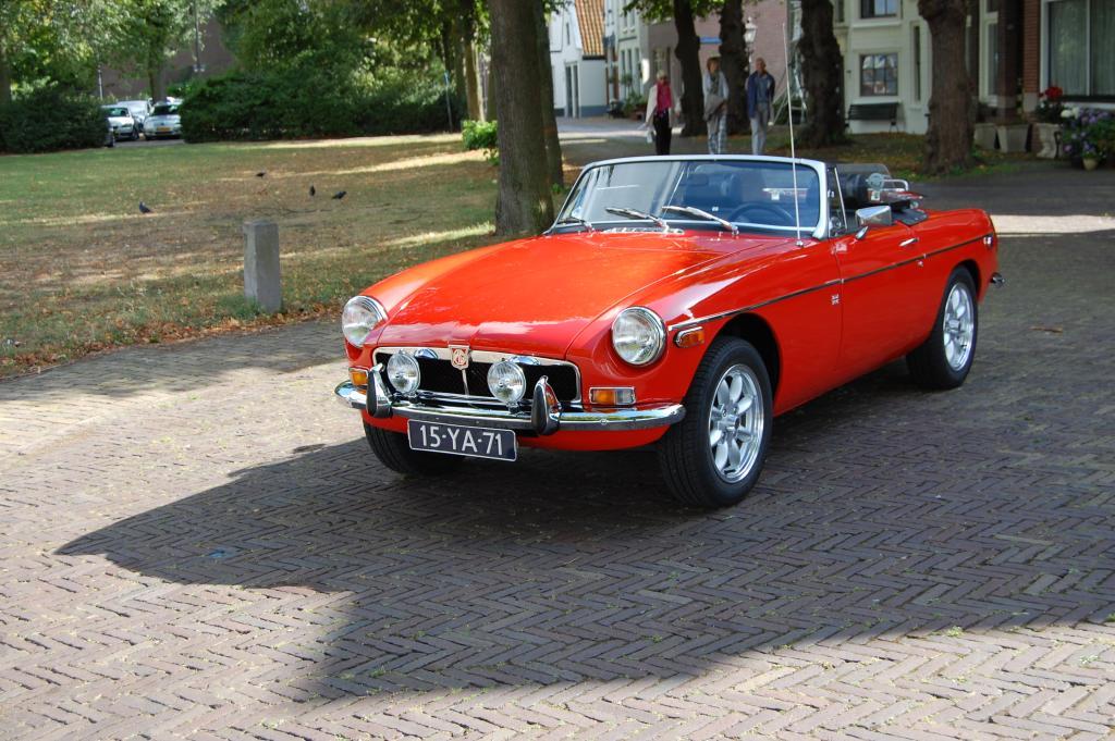 mijn MG 1975
