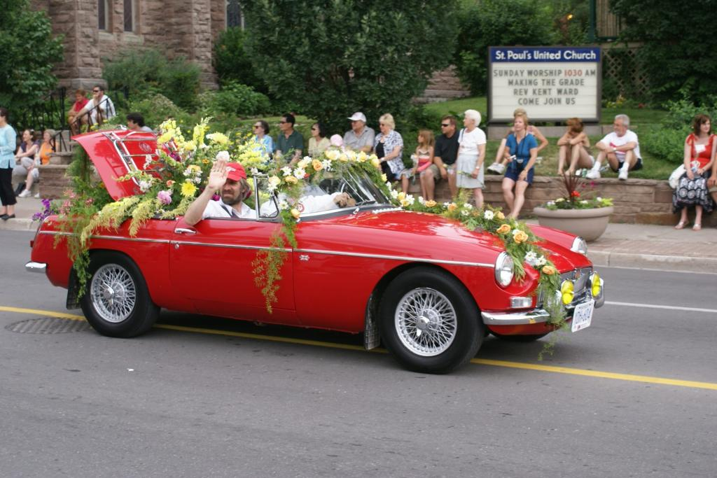 1963 mgb photo is of my car in Brampton flower City parade in 2020 decorated by Brampton Horticultural Society S/N GHN3L2800 And was shipped to Vancouver Nov 23rd 1962 Restored in 1980