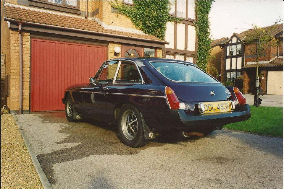 This is my MGB GT i brought off ebay just before xmas 2011