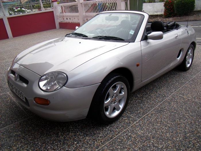 This is my 1999 MGF, bought on March 21, 2012