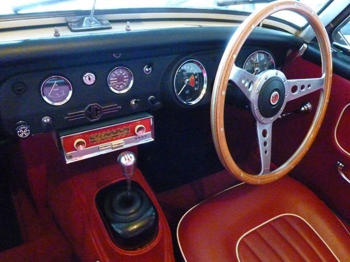 Alloy Gear knob and Bush Radio...circa 65..