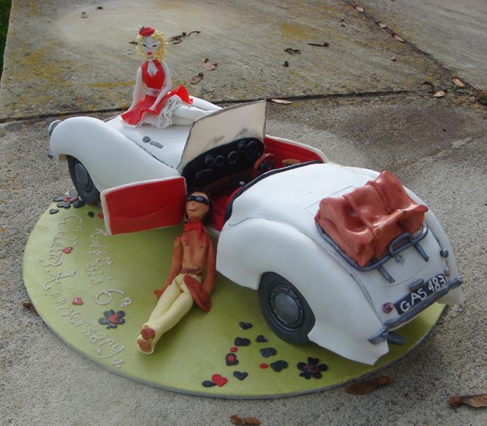 Wedding Anniversary celebration cake.