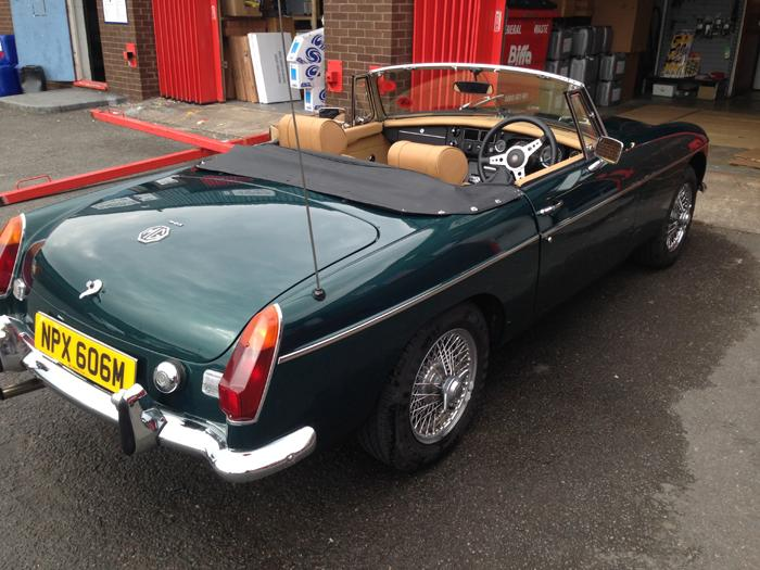 My new MGB 1973 was originally a prize in the Lancaster insurance win a MG competition. Purchased from Winner. Can't believe he sold it ! Its Fantastic and I can't believe my luck in now owning it !!