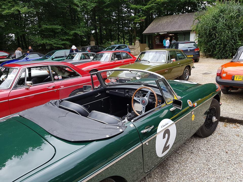 ESMGOC outing, MGB roadster 1965