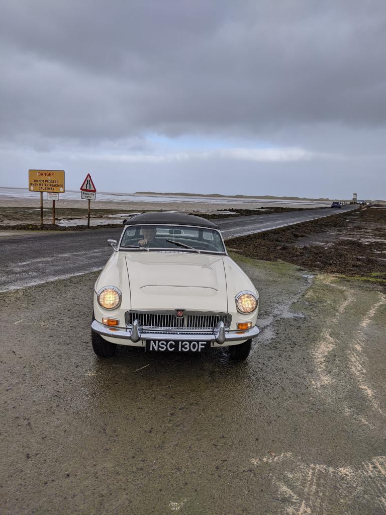 Northumbria Road Trip in MGC