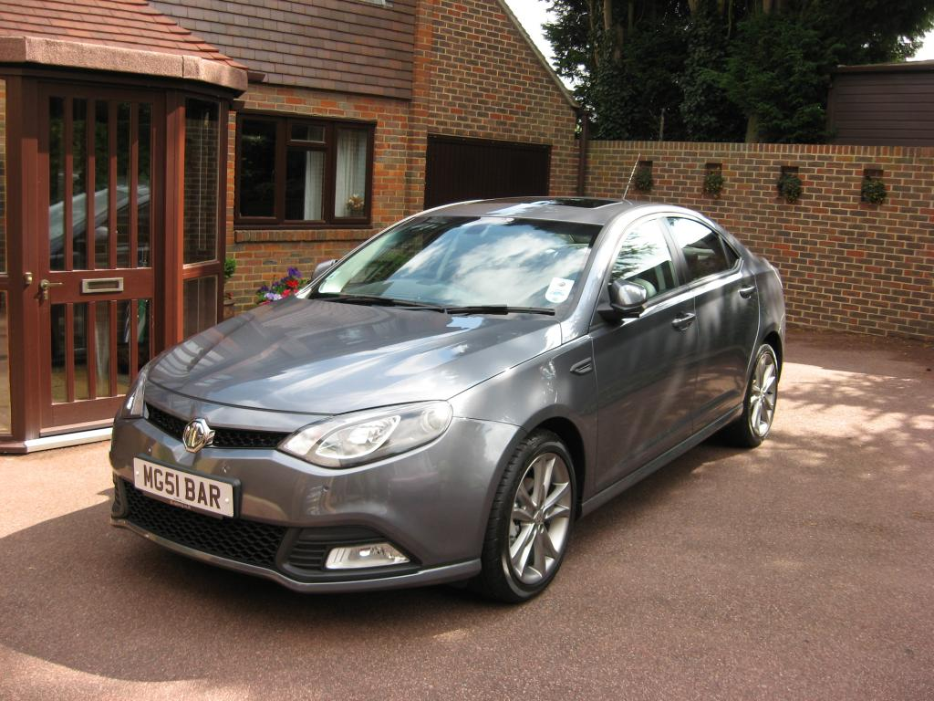 """My MG6 TSE Magnette when purchased in August 2011 at """"Follys End"""" East Farleigh, Maidstone."""